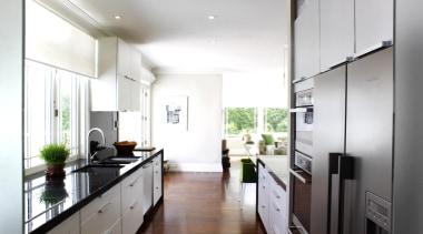 Brooklyn Kitchen - Brooklyn Kitchen - ceiling   ceiling, countertop, daylighting, house, interior design, kitchen, real estate, white