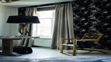 Caravaggio Range - Caravaggio Range - ceiling   ceiling, curtain, decor, floor, home, interior design, lamp, light fixture, lighting, living room, textile, wall, window, window covering, window treatment, black, gray