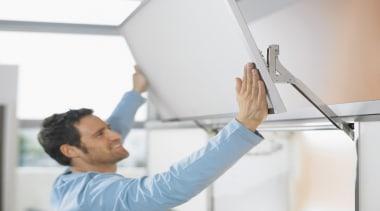 Lift Up System - AVENTOS HL - white white