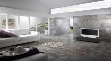 Thrill frost living area floor tiles - Thrill ceiling, floor, flooring, interior design, interior designer, living room, wall, gray