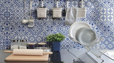City Glamour - City Glamour - blue | blue, ceramic, home, interior design, living room, tile, wall, wallpaper, gray