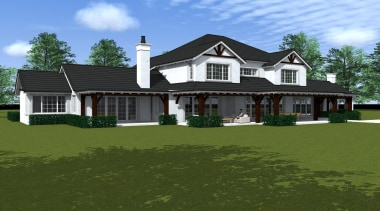 Stout - cottage | elevation | estate | cottage, elevation, estate, facade, farmhouse, grass, historic house, home, house, land lot, landscape, lawn, mansion, property, real estate, residential area, roof, siding, window, brown