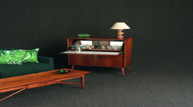 Infinity is an affordable, hard-wearing level loop carpet coffee table, desk, furniture, interior design, product design, shelf, shelving, table, black