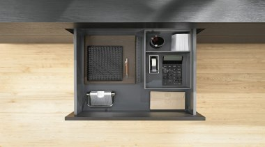AMBIA-LINE inner dividing system – organization at its furniture, yellow, black