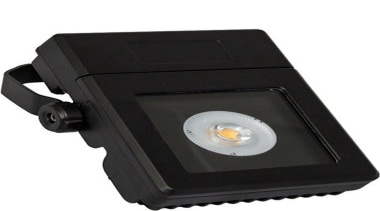 FeaturesThe Crue 2 LED floodlight features an innovative hardware, light, product, black, white