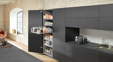 LEGRABOX free - Box System - countertop   countertop, furniture, interior design, kitchen, shelving, gray