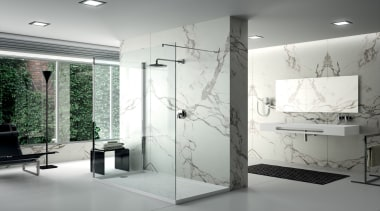 Aura RS11089 2v - Aura RS11089 2v - bathroom, floor, flooring, glass, interior design, plumbing fixture, product design, gray