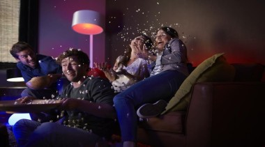 Philips Hue 03 - Philips Hue 03 - audience, entertainment, event, fun, interaction, performance, product, black, purple