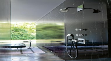 axor citterio ambience for Hansgrohe - axor citterio architecture, ceiling, glass, interior design, product design, reflection, gray, black