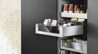 LEGRABOX pure - Box System - furniture | furniture, product design, shelf, shelving, table, black, white