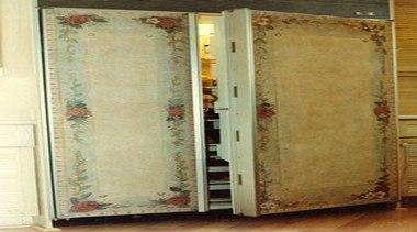 Vintage Looking Fridge - Vintage Fridge - door door, brown, yellow