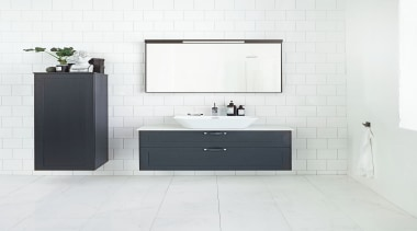 STIL - Dekton Danae - STIL - Dekton angle, bathroom, bathroom accessory, bathroom cabinet, bathroom sink, floor, plumbing fixture, product, product design, sink, tap, tile, white