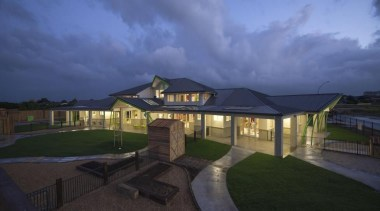 Cumberland Early Education Centre - Cumberland Early Education cloud, cottage, estate, home, house, landscape, lighting, property, real estate, residential area, roof, sky, suburb, blue, black