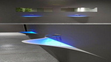 for a little bit of LED drama - light, lighting, product design, black, gray