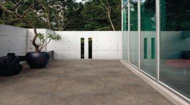Grigio patio. - Riviera Range - architecture   architecture, floor, flooring, house, property, tile, wall, wood, wood flooring, gray