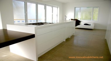 modern minamalist kitchen design Waiheke Island 2014 countertop, floor, flooring, hardwood, interior design, kitchen, property, real estate, room, wood flooring, gray