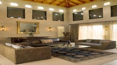 172mangawhai 15.jpg - 172mangawhai_15.jpg - ceiling | furniture ceiling, furniture, home, interior design, living room, room, wall, brown, orange