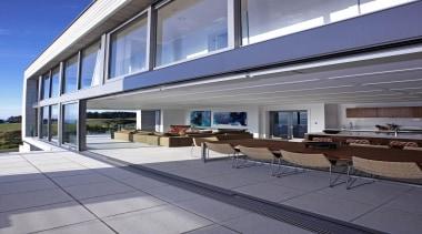 Waiheke - Open Plan Living - waiheke - apartment, architecture, building, daylighting, facade, home, house, property, real estate, siding, window, gray