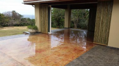 Chemical stain 6 - Chemical_stain_6 - area | area, estate, floor, flooring, hacienda, hardwood, outdoor structure, property, real estate, brown