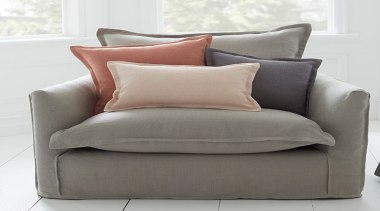 Haven 5 - chair | couch | cushion chair, couch, cushion, duvet cover, furniture, loveseat, pillow, sofa bed, studio couch, throw pillow, gray, white