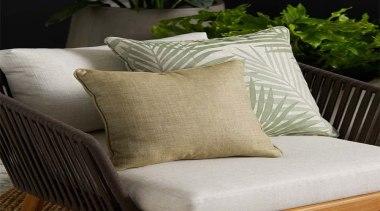 Daintree 5 - chair | couch | cushion chair, couch, cushion, duvet cover, furniture, linens, pillow, textile, throw pillow, wicker, gray, black