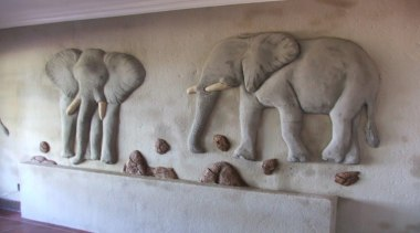 Dcocrete 47 - Dcocrete_47 - african elephant   african elephant, carving, elephant, elephants and mammoths, fauna, indian elephant, relief, sculpture, stone carving, gray