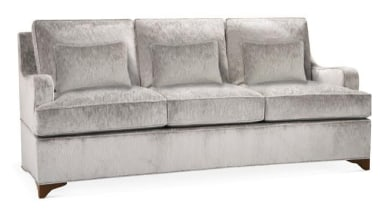 The work of William Sofield is defined not angle, couch, furniture, loveseat, outdoor sofa, product design, sofa bed, studio couch, white