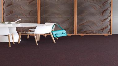 This low level loop pile uses accent flecks carpet, chair, floor, flooring, furniture, hardwood, interior design, laminate flooring, product design, table, tile, wall, wood, wood flooring, black