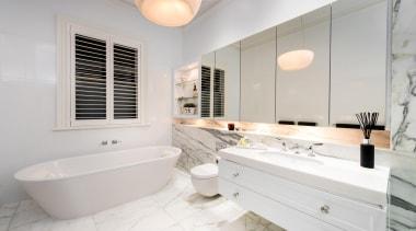 Winner Bathoom of the Year 2013 South Australia bathroom, bathroom accessory, home, interior design, property, real estate, room, sink, tap, window, white, gray