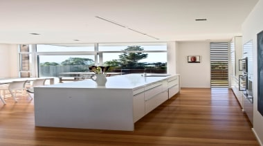 Hawkes Bay Kitchen of the Year 2009National Kitchen architecture, ceiling, countertop, floor, flooring, hardwood, house, interior design, kitchen, living room, real estate, wood flooring, white
