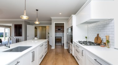 A large family kitchen with a generous scullery, countertop, cuisine classique, home, interior design, kitchen, property, real estate, room, white, gray