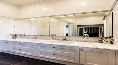 Classic Villa - Classic Villa - bathroom   bathroom, bathroom accessory, bathroom cabinet, cabinetry, countertop, cuisine classique, interior design, kitchen, room, sink, white