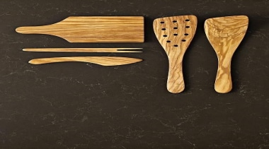A rich fusion of lush, deep browns with cutlery, fork, product design, spoon, wood, wooden spoon, black
