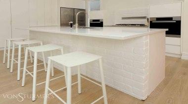 Herne Bay Villa - Herne Bay Villa - countertop, floor, flooring, furniture, interior design, kitchen, product design, property, table, tile, gray