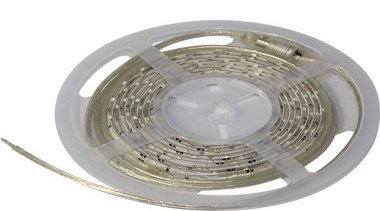 FeaturesThe Sparkle LED strip has 120 LEDs per product design, white, gray