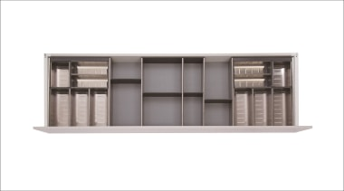All Impala Inoxa components are available individually so, furniture, product, product design, shelf, shelving, sideboard, white