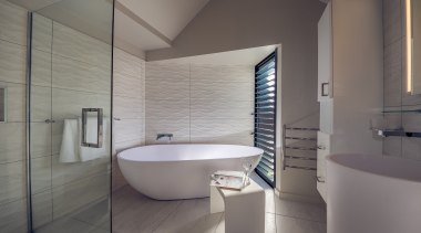 See more from Houston Architects - Houston Arhitects architecture, bathroom, bidet, daylighting, floor, interior design, plumbing fixture, room, tap, tile, gray