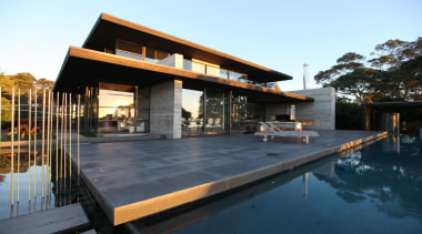 Westmere House - Westmere House - architecture   architecture, home, house, property, real estate, roof, swimming pool, villa, black, white