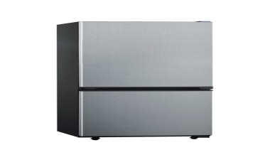 320L Bottom Mount Fridge FreezerCapacity (Gross): 320LInterior light, home appliance, kitchen appliance, product, product design, white, gray