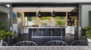 Proudly brought to you by Kitchen Things - door, house, interior design, patio, property, real estate, window, gray, black