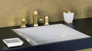 A special Gessi process provides hotel-quality and durability bathroom, bathroom sink, ceramic, countertop, plumbing fixture, product design, sink, tap, brown
