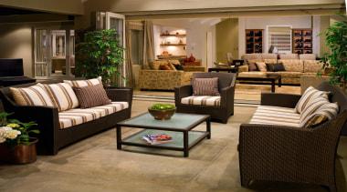 karaka  mds loggia 1 - karaka__mds_loggia_1 - couch, floor, flooring, furniture, home, interior design, living room, lobby, loveseat, room, brown