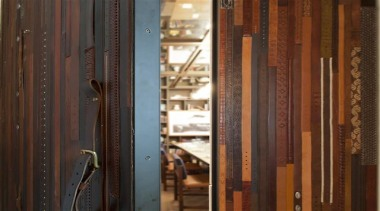 Create instant memories with EcoDomo leathers and belt door, wall, window, wood, wood stain, brown