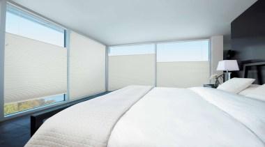luxaflex duette shades - luxaflex duette shades - architecture, bed frame, bedroom, ceiling, daylighting, estate, home, house, interior design, property, real estate, room, suite, window, white