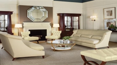 """""""Upholstery helps set the foundation for how a chair, coffee table, couch, floor, flooring, furniture, hardwood, home, interior design, living room, loveseat, property, room, table, window, orange"""
