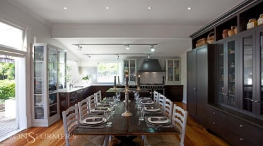 Grand Old Auckland Villa - Grand Old Auckland ceiling, countertop, dining room, interior design, kitchen, property, real estate, room, gray, black
