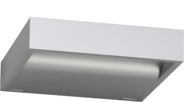 FeaturesWith clean lines and an innovative LED lighting product design, white, gray