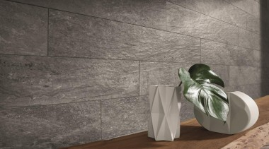 225x900mm format tiles create an effective textured look floor, flooring, product design, tile, wall, gray