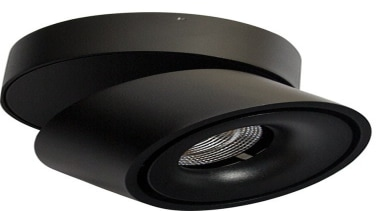 FeaturesThe Universal LED Spotlight is a unique and hardware, product, product design, black, white