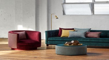 Soft, plush and inviting, this dynamic collection is chair, coffee table, couch, floor, flooring, furniture, interior design, living room, loveseat, table, gray